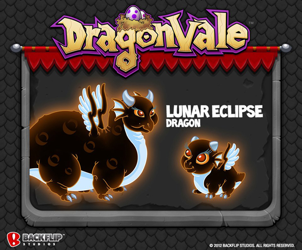DragonVale Lunar Eclipse Dragon Official Image