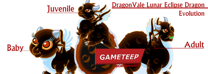 DragonVale - Lunar Eclipse Dragon evolution chart