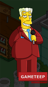 The Simpsons Tapped Out - Brockman