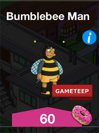 The Simpsons Tapped Out - Bumblebee Man