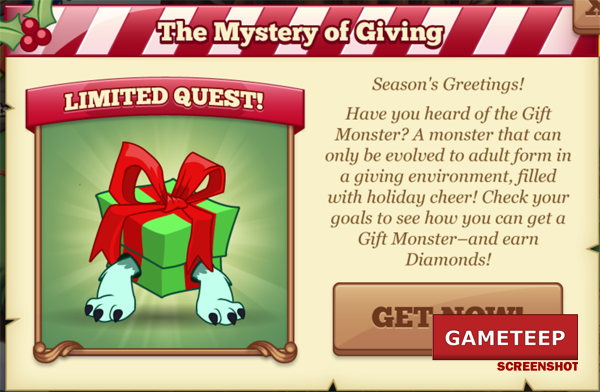Tiny Monsters Gift Monsters Mystery of Giving