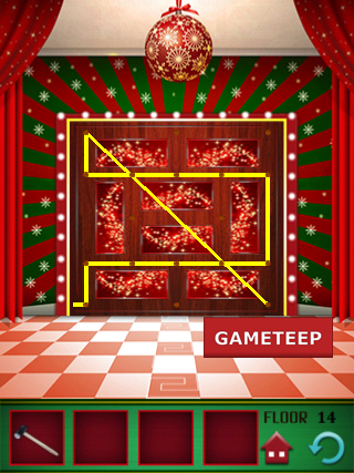 100 Floors Christmas Special Level 14 Gameteep