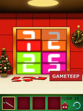 100 Floors Christmas Special Level 11 Gameteep