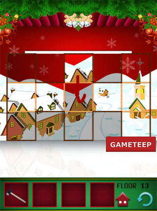 100 Floors Christmas Special Level 13 Gameteep