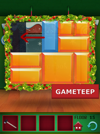 100 Floors Christmas Special Level 15 Gameteep