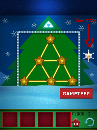 100 Floors - Christmas Special Level 2 Screenshot 2