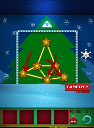 100 Floors Christmas Special Level 2 Gameteep
