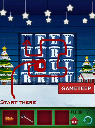 100 Floors Christmas Special Level 8