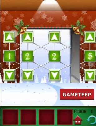 100 Floors Christmas Special Level 1 Gameteep