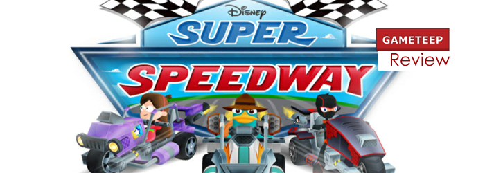 Disney Super Speedway Review Screen