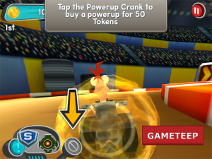 Disney Super Speedway Screenshot 1