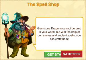 Dragon Story Gemstone Dragons cannot be bred