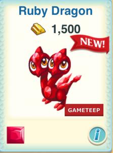 Dragon Story Ruby Dragon icon