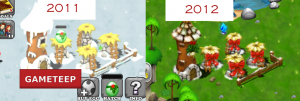 DragonVale Christmas Nursery Bay