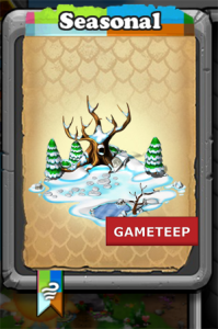 DragonVale Winter Seasonal Habitat