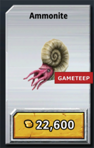 Jurassic Park Builder Ammonite