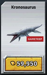 Jurassic Park Builder Kronosaurus