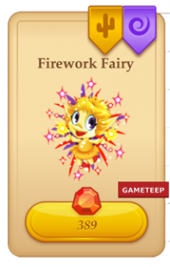 Tiny Castle Firework Fairy icon