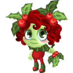 Tiny Castle Holly Dryad Baby