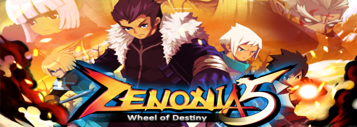 Zenonia 5 Wheel of Destiny Upper Screen