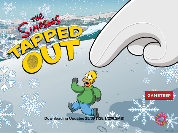 he Simpsons Tapped Out - Christmas Update 4.0.0