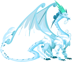 Dragon City Blizzard Dragon Adult