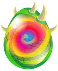 Dragon City Chameleon Dragon egg