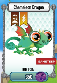 Dragon City Chameleon Dragon icon