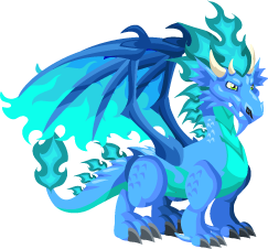 Dragon City Cool Fire Dragon Adult
