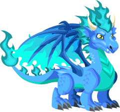 Dragon City Cool Fire Dragon Teen