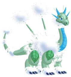 Dragon City Dandelion Dragon Adult