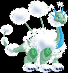 Dragon City Dandelion Dragon Adult