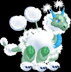 Dragon City Dandelion Dragon Teen