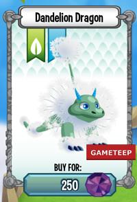 Dragon City Dandelion Dragon icon
