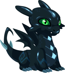 Dragon City Dark Dragon Baby