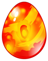 Dragon City Firebird Dragon egg