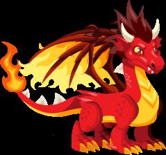 Dragon City Flame Teen