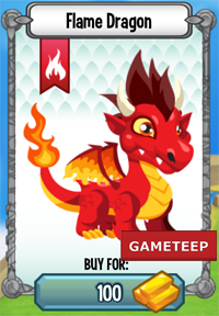 Dragon City Flame Dragon icon