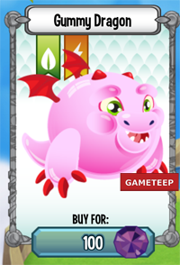 Dragon City Gummy Dragon icon
