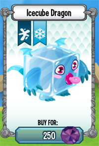 Dragon City Icecube Dragon icon