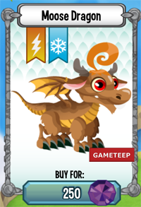 Dragon City Moose Dragon icon