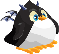 Dragon City Penguin Dragon Baby