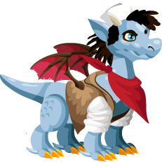 Dragon City Pirate Dragon Baby