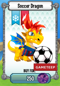 Dragon City: Soccer Dragon | Gameteep