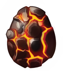 Dragon City Vulcano Dragon egg