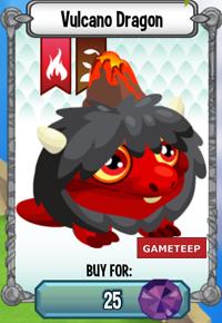 Dragon City Vulcano Dragon icon