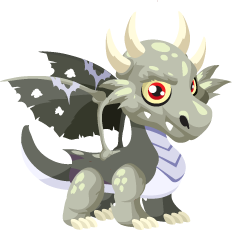 Dragon City Zombie Dragon Baby
