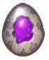 DragonVale Amethyst Dragon egg