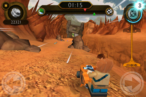 LEGO Legends of Chima Speedorz Screenshot 1
