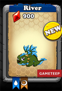 DragonVale River Dragon